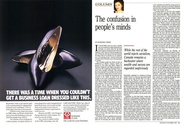Article Preview: The confusion in people's minds, October 1990 | Maclean's