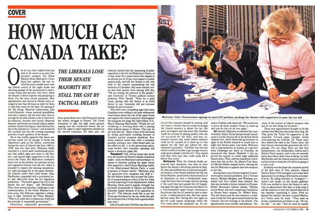 Article Preview: HOW MUCH CAN CANADA TAKE?, October 1990 | Maclean's