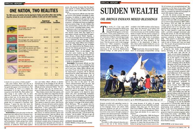Article Preview: SUDDEN WEALTH, October 1990 | Maclean's