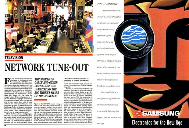 Article Preview: NETWORK TUNE-OUT, October 1990 | Maclean's