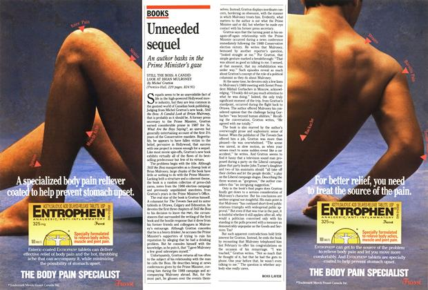Article Preview: Unneeded sequel, October 1990 | Maclean's
