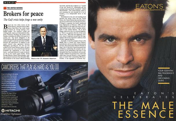 Article Preview: Brokers for peace, October 1990 | Maclean's