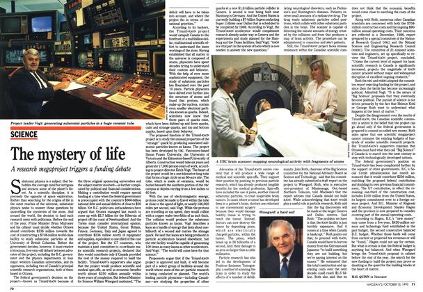 Article Preview: The mystery of life, October 1990 | Maclean's