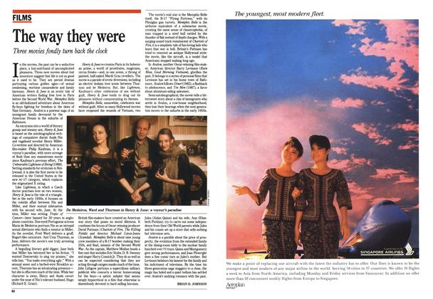 Article Preview: The way they were, October 1990 | Maclean's