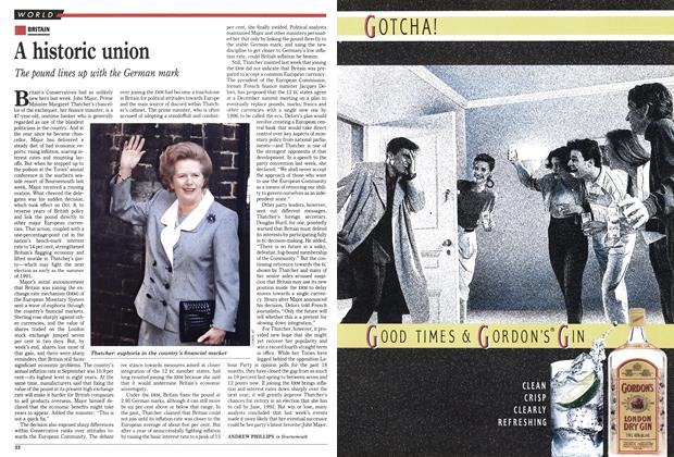 Article Preview: A historic union, October 1990 | Maclean's