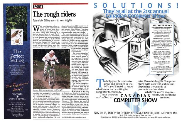 Article Preview: The rough riders, October 1990 | Maclean's