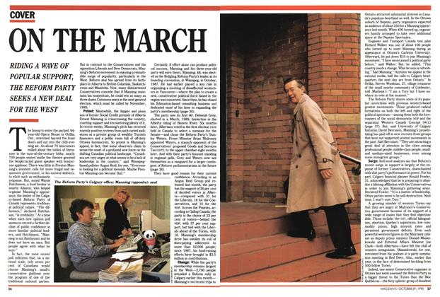 Article Preview: ON THE MARCH, October 1990 | Maclean's