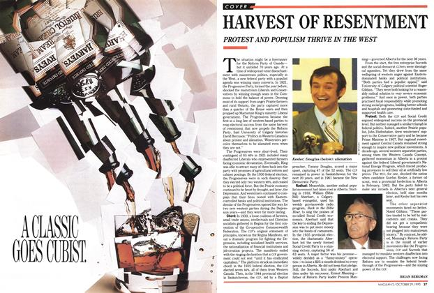 Article Preview: HARVEST OF RESENTMENT, October 1990 | Maclean's
