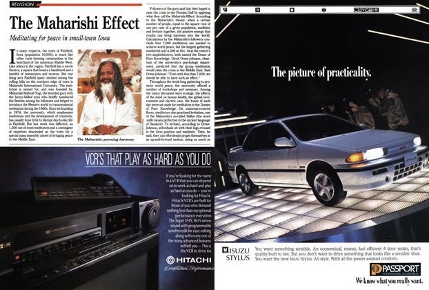 Article Preview: The Maharishi Effect, October 1990 | Maclean's
