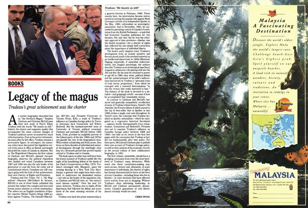 Article Preview: Legacy of the magus, October 1990 | Maclean's