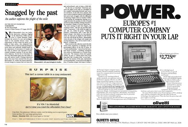 Article Preview: Snagged by the past, October 1990 | Maclean's