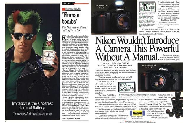 Article Preview: 'Human bombs', November 1990 | Maclean's