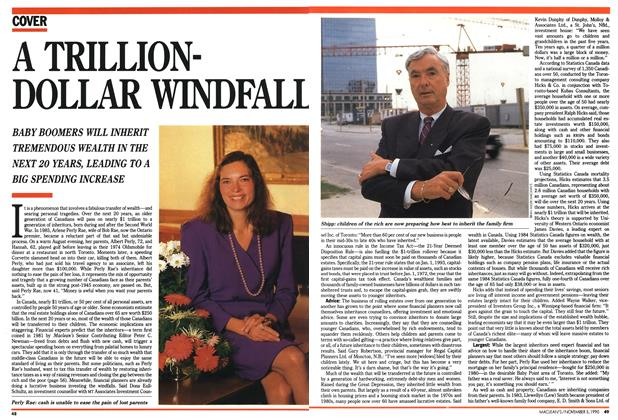 Article Preview: A TRILLIONDOLLAR WINDFALL, November 1990 | Maclean's