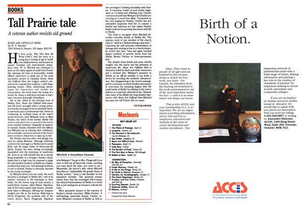 Article Preview: Tall Prairie tale, November 1990 | Maclean's