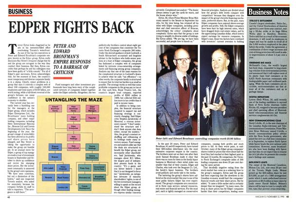 Article Preview: EDPER FIGHTS BACK, November 1990 | Maclean's