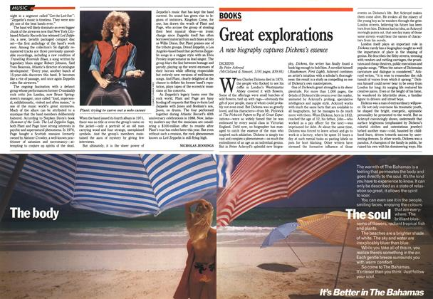 Article Preview: Great explorations, November 1990 | Maclean's