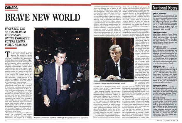 Article Preview: BRAVE NEW WORLD, November 1990 | Maclean's