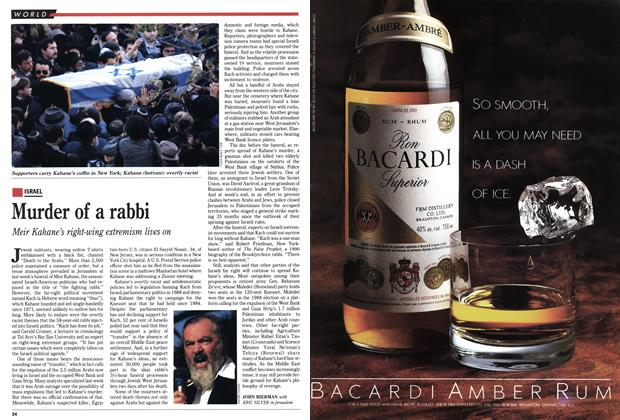 Article Preview: Murder of a rabbi, November 1990 | Maclean's
