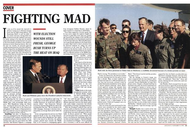 Article Preview: FIGHTING MAD, November 1990 | Maclean's