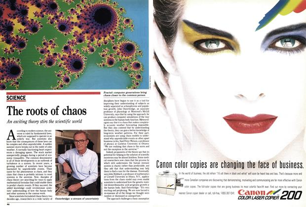 Article Preview: The roots of chaos, November 1990 | Maclean's