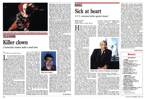Article Preview: Sick at heart, November 1990 | Maclean's