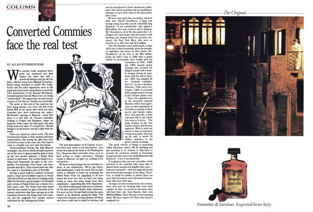 Article Preview: Converted Commies face the real test, November 1990 | Maclean's