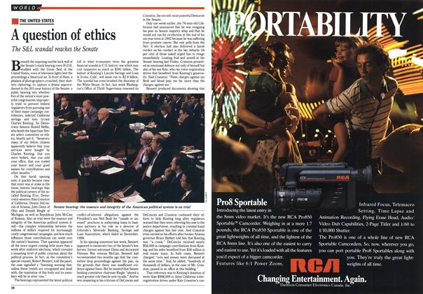Article Preview: A question of ethics, November 1990 | Maclean's