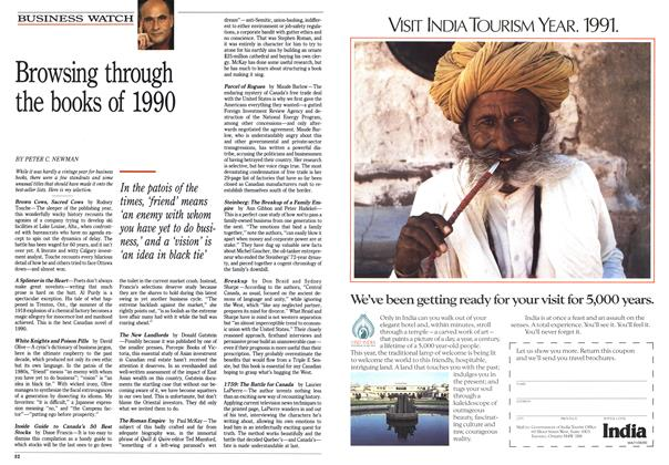 Article Preview: Browsing through the books of 1990, November 1990 | Maclean's