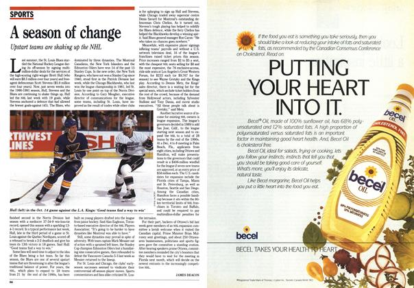 Article Preview: A season of change, November 1990 | Maclean's