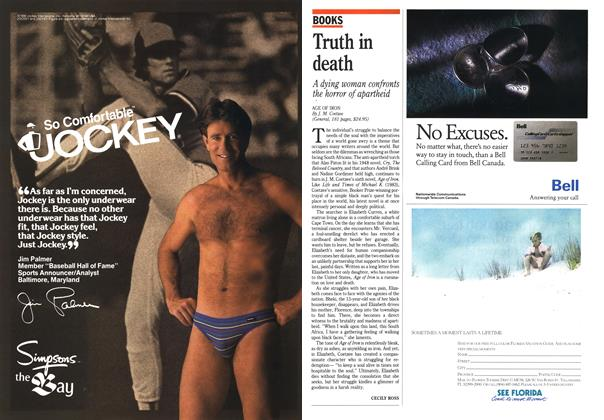 Article Preview: Truth in death, November 1990 | Maclean's