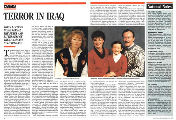 Article Preview: TERROR IN IRAQ, December 1990 | Maclean's