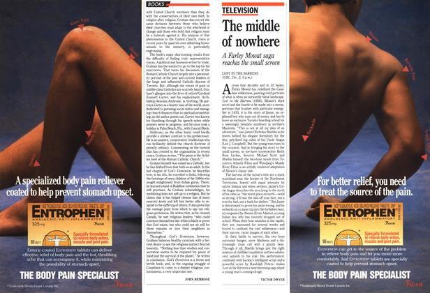 Article Preview: The middle of nowhere, December 1990 | Maclean's