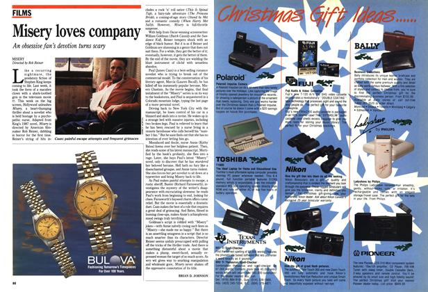 Article Preview: Misery loves company, December 1990 | Maclean's