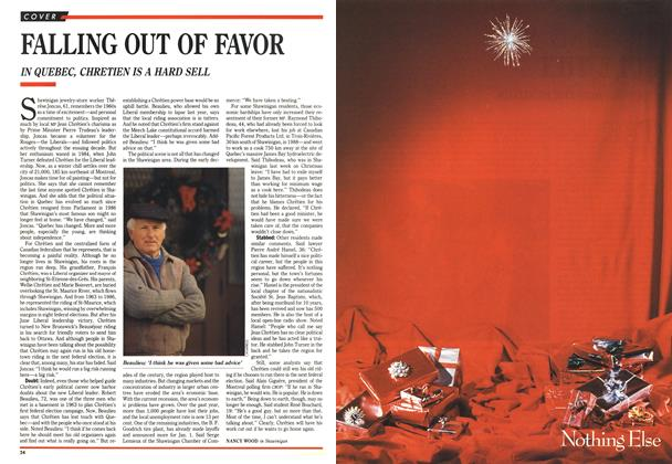 Article Preview: FALLING OUT OF FAVOR, December 1990 | Maclean's