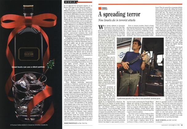 Article Preview: A spreading terror, December 1990 | Maclean's