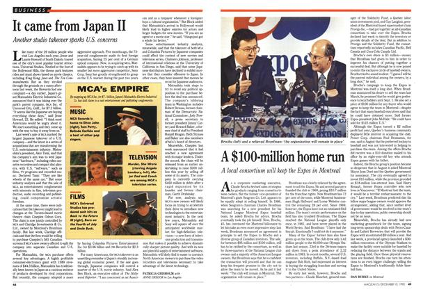 Article Preview: It came from Japan II, December 1990 | Maclean's