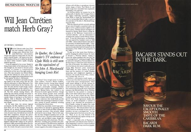 Article Preview: Will Jean Chrétien match Herb Gray?, December 1990 | Maclean's
