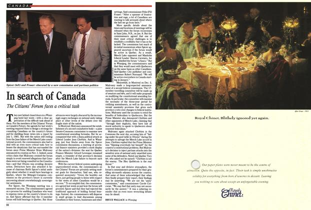 Article Preview: In search of Canada, December 1990 | Maclean's