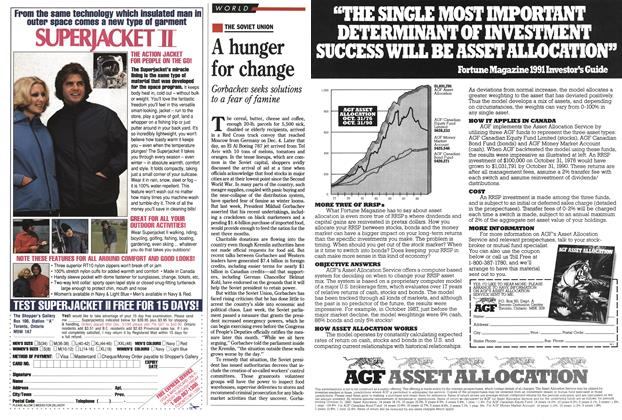 Article Preview: A hunger for change, December 1990 | Maclean's