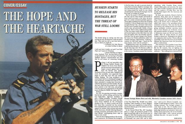 Article Preview: THE HOPE AND THE HEARTACHE, December 1990 | Maclean's