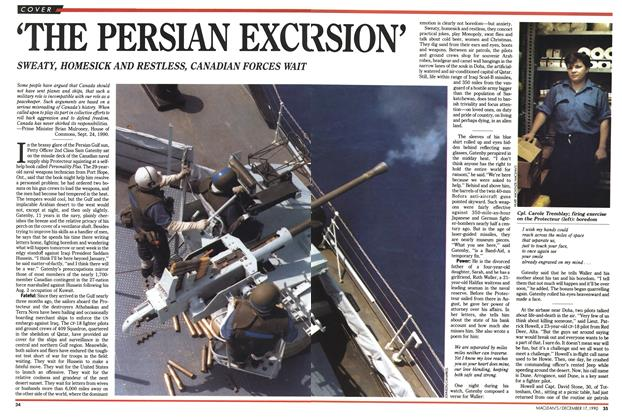 Article Preview: 'THE PERSIAN EXCURSION', December 1990 | Maclean's