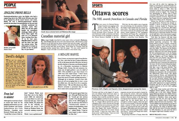Article Preview: Ottawa scores, December 1990 | Maclean's