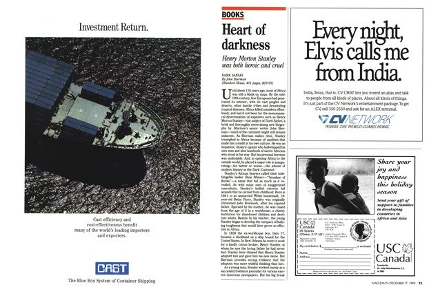 Article Preview: Heart of darkness, December 1990 | Maclean's
