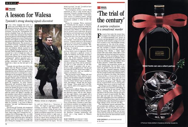 Article Preview: A lesson for Walesa, December 1990 | Maclean's