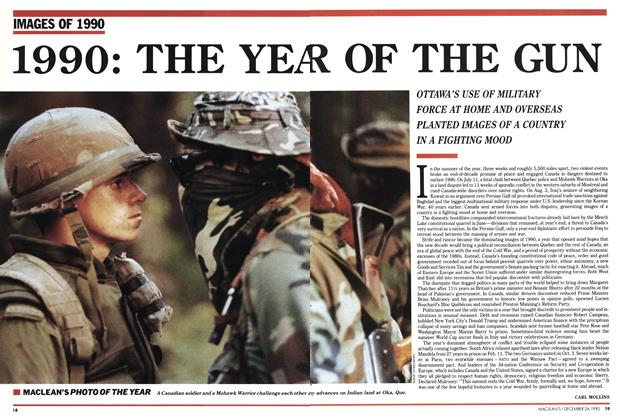 Article Preview: 1990: THE YEAR OF THE GUN, December 1990 | Maclean's