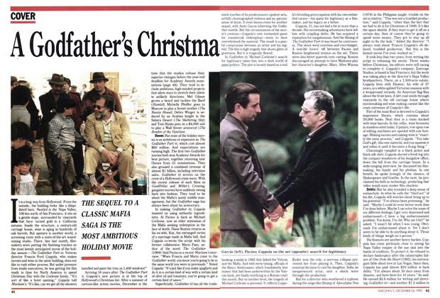 Article Preview: A Godfather's Christima, December 1990 | Maclean's