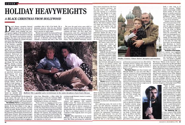 Article Preview: HOLIDAY HEAVYWEIGHTS, December 1990 | Maclean's