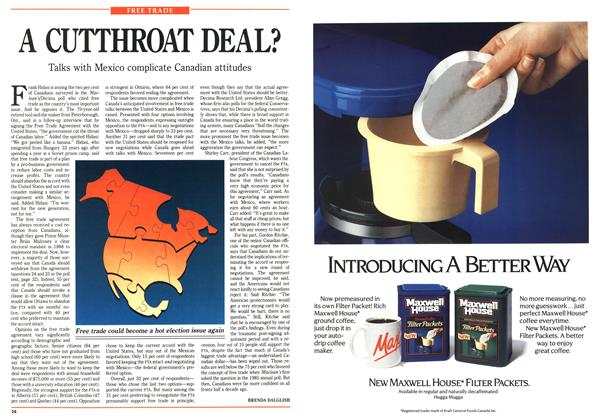 Article Preview: A CUTTHROAT DEAL?, January 1991 | Maclean's