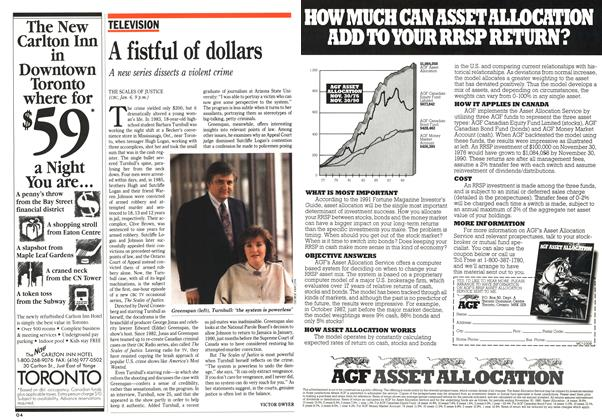 Article Preview: A fistful of dollars, January 1991 | Maclean's