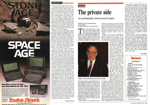 Article Preview: The private side, January 1991 | Maclean's